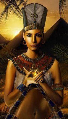 Egyptian woman.