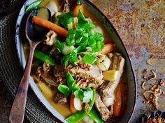 [Red pork with lychee curry. Click here for recipe.](http://www.foodtolove.com.au/recipes/red-pork-and-lychee-curry-16824).
