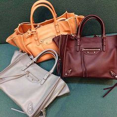 These balenciaga bags are everything!