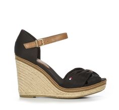 Nilson Shoes Sandaletter Sko Textil Svart