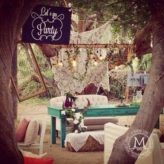 Let´s go party! Romantic + Vintage + Organic wedding #Cabo #EventDesignbyMariannaIdirin #DestinationWedding