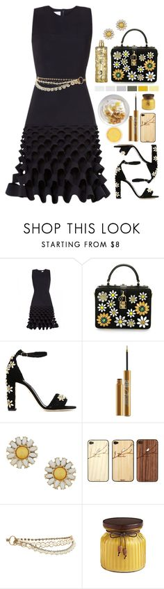 """""""02.07.16-2"""" by malenafashion27 ❤ liked on Polyvore featuring Dion Lee, Dolce&Gabbana, Urban Decay, Dorothy Perkins, Toast and New Look"""
