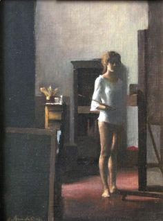 Elena Arcangeli 1972   Italian Figurative painter