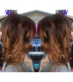 Tiger eye hair | Fall hair | Balayage | Caramel brunette hair