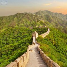 The #GreatWallofChina was built, rebuilt, and maintained between the 5th century BC and the 16th century. It was meant to guard the northern borders of the Chinese Empire from the invasions of nomadic tribes. This mammoth Wall, with all of its branches, stretches for 8,851.8 kilometers. While some portions near tourist centers have been preserved and even extensively renovated, in many locations the Great Wall is in ruins due to erosion and vandalism. #China