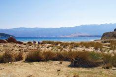 Velebit e Goli Otok da Uvala Podsilo - Otok Rab