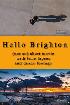 Hello Brighton, (not so) short movie with time lapses and drone footage. A lot of drama in the second part, but luckily a happy ending... An overview of the town of Brighton (Sussex, England) with music, all images edited with Adobe Lightroom, LR timelapse, After Effect and Premiere Pro. Video camera used: Panasonic GH4 micro four thirds, drone used: DJI Phantom 4 Pro My YouTube channel: https://www.youtube.com/channel/UCgaBlrFDONJ4BSEUHa2cLKg. My videos are for sale at Pond 5 as Vicfilm