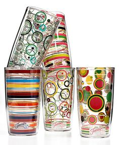 Fiesta by Tervis Drinkware, Tumbler Collection perfect for everyday use and on the deck/porch/pool