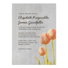 ReviewVintage Tulip Wedding Invitations Personalized Invitationsonline after you search a lot for where to buy