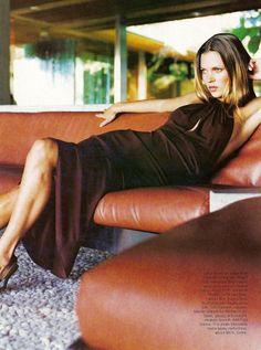 ☆ Kate Moss | Photography by Patrick Demarchelier | For Harper's Bazaar Magazine US | April 1997 ☆ #katemoss #patrickdemarchelier #harpersbazaar #1997