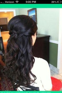 Prom Hair 2013 @Kristen - Storefront Life Soreano