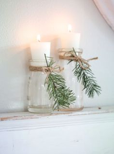 Cozy and Natural Christmas Living Room Tour a warm and cozy living room decorated for Christmas. Neutral furnishings with pops of blue, natural evergreens, and vintage and thrifted finds. - Cozy and Natural Christmas Living Room - Saw Nail and Paint Christmas Living Rooms, Cozy Living Rooms, Christmas Home, Christmas Crafts, White Christmas, Christmas Music, Christmas Decor For Bathroom, Christmas Lounge, Christmas Movies