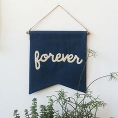 Image of FOREVER Banner - Deep Teal