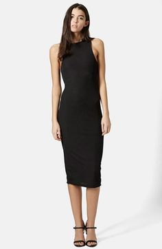 Topshop Ribbed Tank Dress available at #Nordstrom DT Seattle