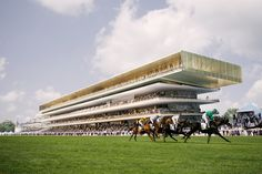 dominique perrault begins renovation work at paris' longchamp racecourse