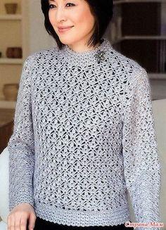 Crochet Shirt, Crochet Jacket, Crochet Cardigan, Diy Crafts Crochet, Easy Crochet, Knit Crochet, Knitting Designs, Crochet Designs, Crochet Patterns