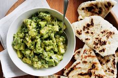 Spiced with the flavour of India, this creamy avocado dip is sure to be a hit at your next party.