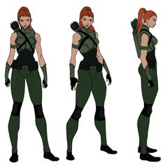 Artemis Design 1 by on DeviantArt Character Model Sheet, Female Character Design, Comic Character, Character Concept, Superhero Suits, Superhero Characters, Dc Comics Characters, Comic Costume, Hero Costumes