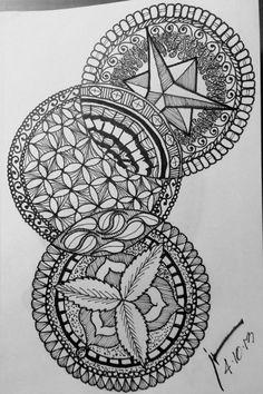 Zentangle Sketch