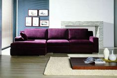 don't know why I love the idea of a purple couch so much! :)