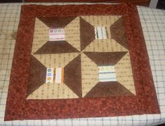 First block of my future selvege sampler quilt