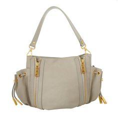 Matthew Harris Tasche – Marisol Zip Hobo Bag Dark Kitt – in…