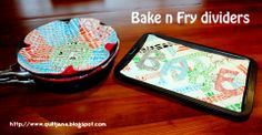 Moda Bake Shop: 60-Minute Gift: Bake 'n' Fry Dividers. Cute way to protect nonstick pans.