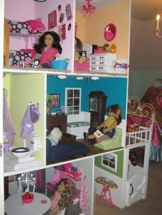 American Girl Doll House - maybe someday if she sticks with the AG stuff