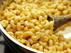 This macaroni and cheese—this pot of creamy, gooey, cheesy, glorious macaroni and cheese—was made with three ingredients in about 10 minutes. Seriously. That's one fewer ingredient than you need to add to the pot to make a box of Kraft macaroni and cheese. Not only that, but all three ingredients are staples, with shelf lives of weeks or months, which means that a simple lunch is always on hand.\n\nReady to see it?