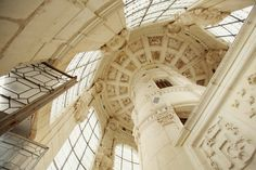 Chambord or Chenonceau Castle {not sure which}, France. via thecherryblossomgirl.com