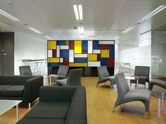 Zona de descanso - Office. CINC, Centro de negocios en Barcelona.