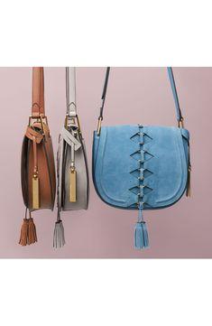 Ancel Suede Crossbody Bag
