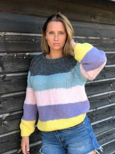 Turtle Neck, Knitting Sweaters, Sorbet, Blog, Pullover, Inspiration, Fashion, Tricot, Trapillo