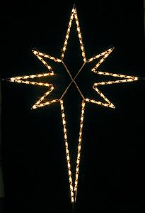 Lighted Cross Decor Large 2 X4 Outdoor Christmas Lights