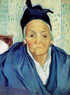 Van Gogh - Old Woman from Arles,1888 (Van Gogh Museum Amsterdam)
