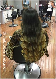 Gorgeous hair for days #longhair #bayalage  #ombre #haircolor #longhair #haircolor #gorgeous #hairgoals #darkhair #blondehair