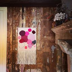 Large hand woven wall hanging tapestry by bubblewrapdesign on Etsy