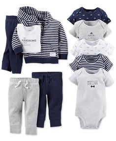 Carter's Baby Boys' Clothing Set, Bodysuits & Pants - Carter's Baby Essentials - Kids & Baby - Macy's