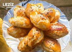 Kıyır Poğaça (Mayasız) Turkish Recipes, Ethnic Recipes, Muffins, Homemade Beauty Products, Pretzel Bites, Baked Potato, Margarita, Shrimp, Health Fitness