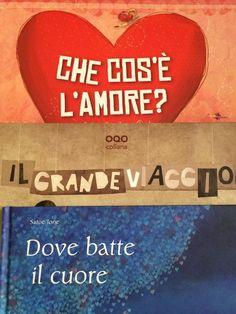 #titolibriamo di Michela Natale Sellitto e Arturo Montieri - cjìhe cos'è l'amore? - il grande viaggio - dove batte il cuore