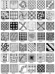 Resultado de imagem para zentangle images