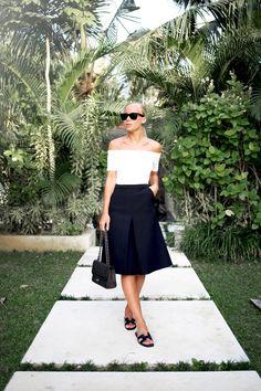 Shoes – Hérmes Skirt – H&M Bag – Chanel Top – H&M