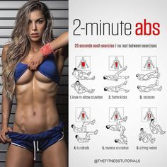 The Best Bodybuilding Workouts Program: The 15 Minute Hot ABS Workout Fitness Workouts, Fitness Po, Fitness Motivation, Sport Fitness, Body Fitness, Fitness Goals, At Home Workouts, Health Fitness, Daily Workouts