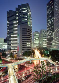 Expressway near Shibuya, Tokyo: PROYECTO GANOLIFE 365