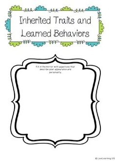 Inherited Traits, Genes, and Learned Behaviors {Lesson, In Powerpoint Lesson, Teaching Science, School Projects, Genetics, Behavior, The Unit, How To Plan, Learning, Digital