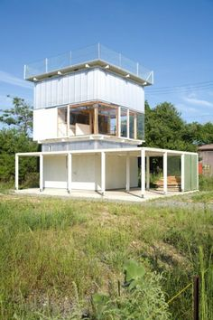 HANKYO HOUSE • Lake Biwa, Shiga Prefecture, Japan • Iida Archiship Studio • http://www.iida-arc.com