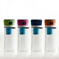 "16 oz. Filtering Water Bottle - Take the ""hose"" taste out of water at campsites"