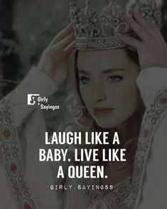 Yeah laugh like a true suwar and Queen toh ha hie tu 😘 Positive Attitude Quotes, Attitude Quotes For Girls, Crazy Girl Quotes, Good Thoughts Quotes, Postive Quotes, Crazy Friend Quotes, Attitude Thoughts, Funny Attitude Quotes, Quotes Girls