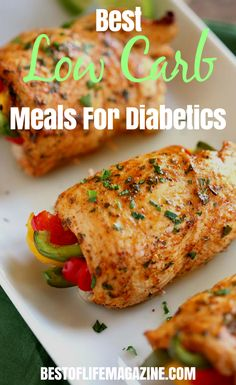 Low Carb Meals for Diabetics Keto Meals that Reduce Blood Sugar BOLM is part of Best low carb recipes - There are easy to make low carb meals for diabetics that are perfect for doing meal prep, making it so easy to stick to your keto meal plan! Diabetic Food List, Diabetic Meal Plan, Ketogenic Diet Meal Plan, Keto Meal Plan, Diet Meal Plans, Healthy Diabetic Recipes, Healthy Eating, Diabetic Recipes For Dinner, Diabetic Lunch Ideas