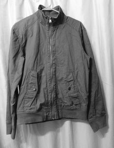 baabb21d2ecd Mens Converse One Star jacket Size S Small 100% cotton zippered up collared  gray  fashion  clothing  shoes  accessories  mensclothing  coatsjackets ( ebay ...